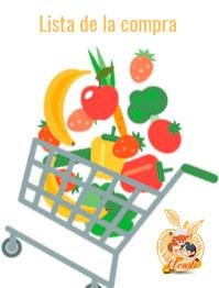 Descarga la lista de la compra saludable
